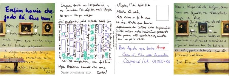 Conto Postal #1 - Caprocó, Utopia - Jaime Scatena