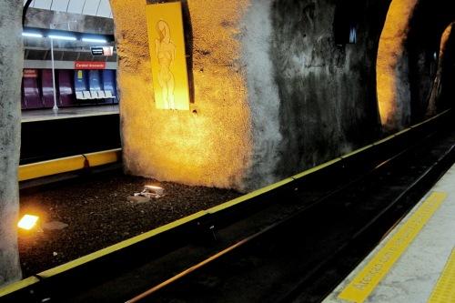 Arte Pública subterrânea | Rio de Janeiro | Jaime Scatena