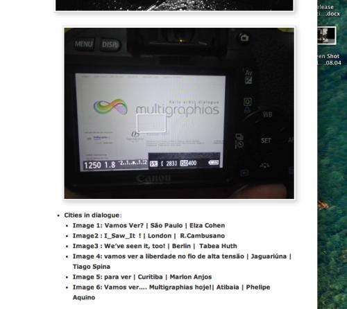 Screen Shot | Atibaia | Jaime Scatena