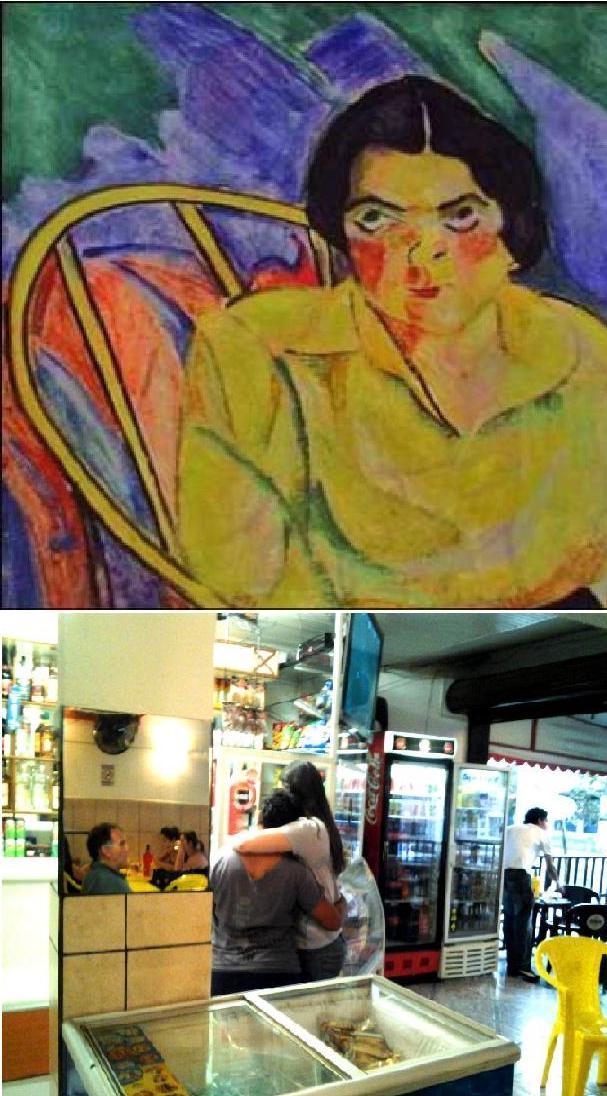 quadro - A boba - da artista Anita Malfatti