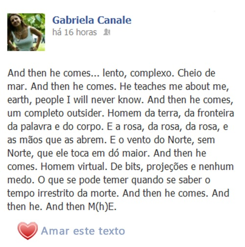m(h)e | on Facebookland | Gabriela Canale