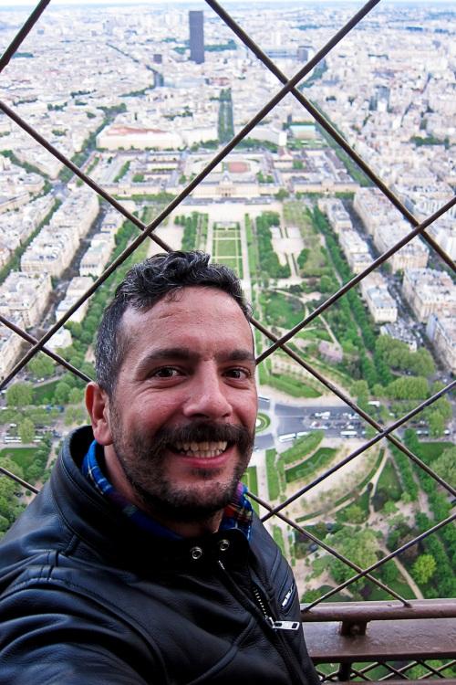 Moi en la ville | Paris | Jaime Scatena