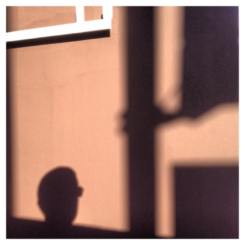 Self (shadow) portrait | São Paulo | Jaime Scatena