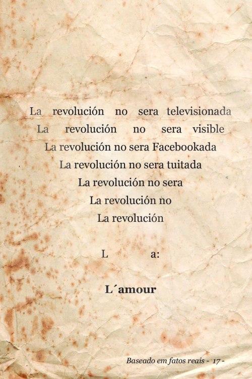 La revolucion | Poto Alegre | Gabriela Canale