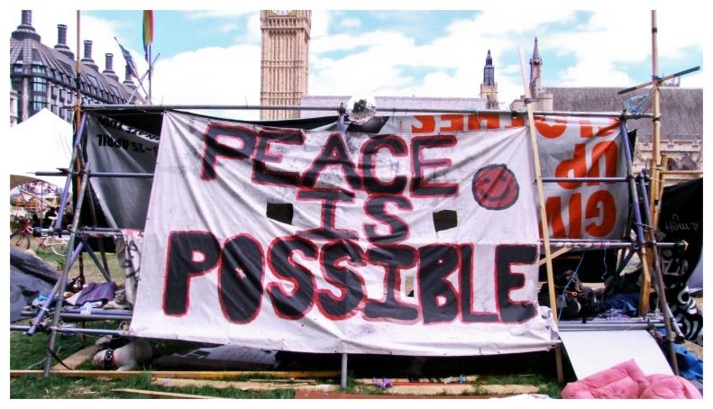 peace | London | R.Cambusano