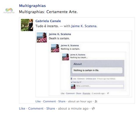 Certamente Arte   FacebookLand   Multi Graphias Guarani Kaiowá