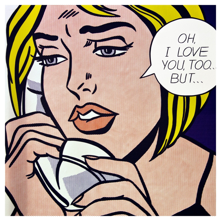 LOVE LICHTENSTEIN  | London | R.Cambusano