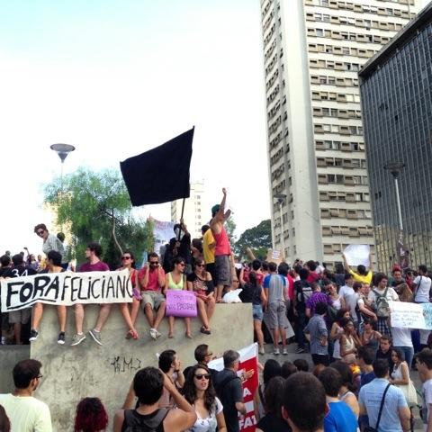 Fora homofobia! | São Paulo | Jaime Scatena