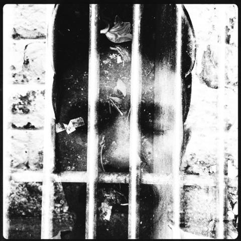 Behind bars (selfportrait) | Atibaia | Jaime Scatena