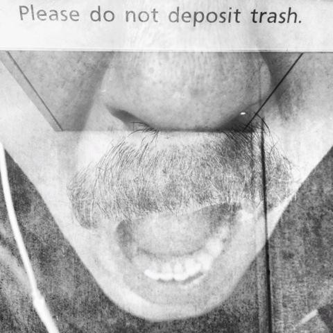 No Trash (selfportrait) | New York Jaime Scatena