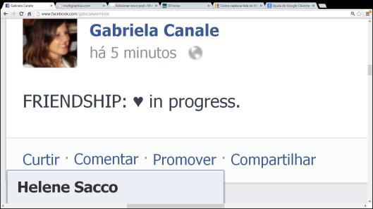 online friendship | Vitória | Gabriela Canale