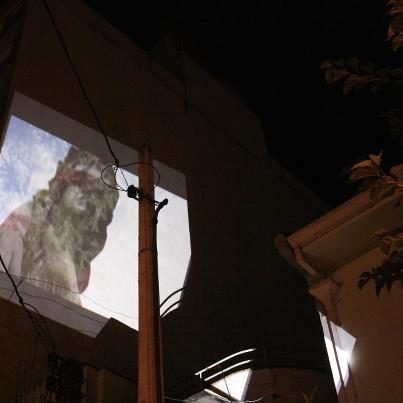 videoguerrilha | ruína digitalizada | memórias de Porto Alegre em Vitória | Casa Comum - Gabriela Canale