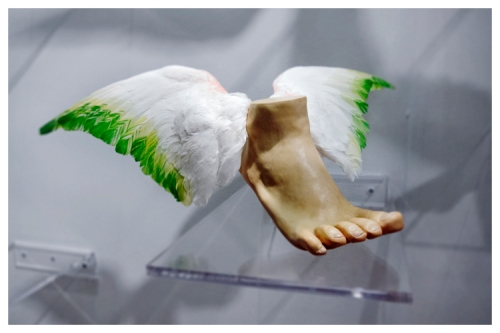 Flying for a body | Pulse Art Fair (New York) | Jaime Scatena (Angela Lergo)