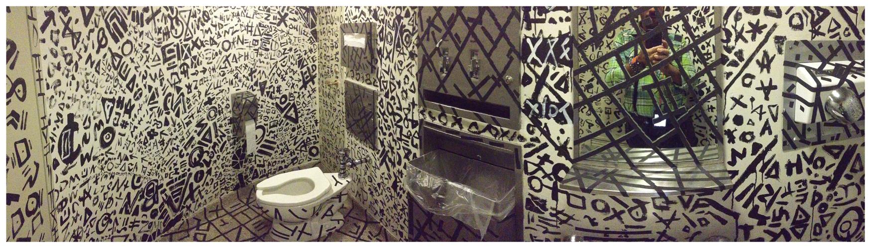 Modern Jazz WC (Gutai) | New York | Jaime Scatena (After Shūji Mukai)