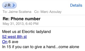Welcome to Electric Land | New York | Jaime Scatena