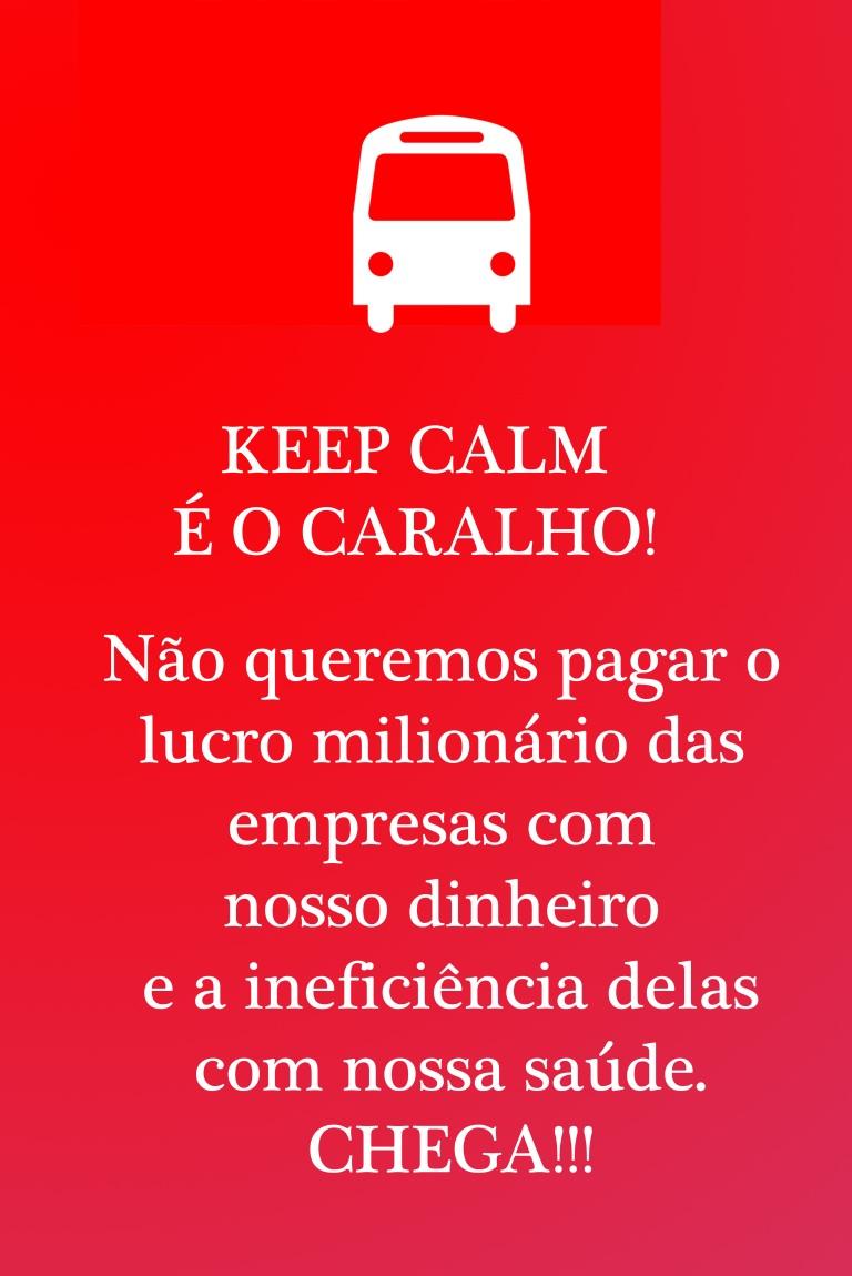 keep calm é o caralho | Vitória | Gabriela Canale