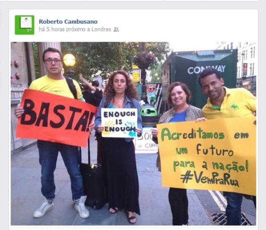roberto foi pra rua | Webland | Gabriela Canale