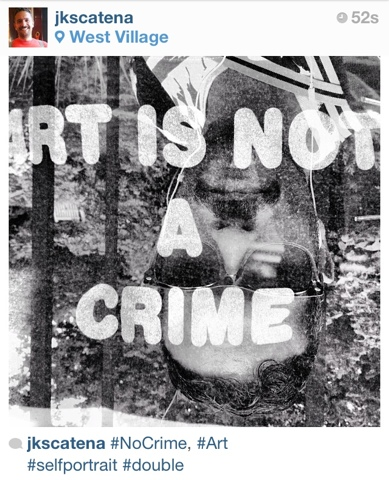 #NoCrime, #Art | New York | Jaime Scatena