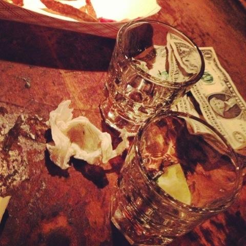 Tequila & fries | New York | Jaime Scatena