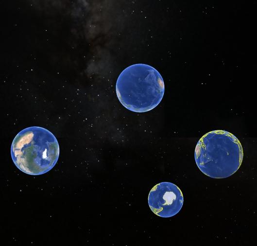 nossa casa | google earth | Gabriela Canale