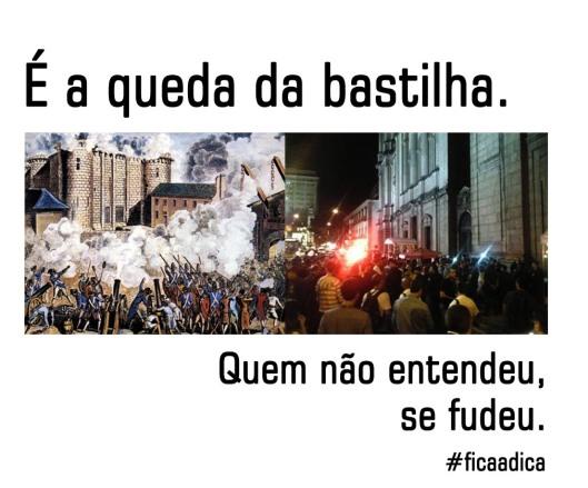 queda da bastilha | Sao Mateus | Gabriela Canale