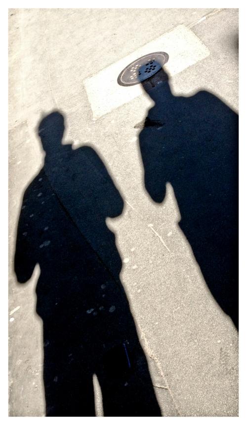 two dimensional silhouette | London | R.Cambusano
