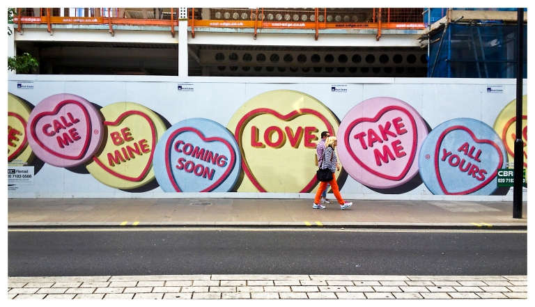 love may come from a street pill form  | London  | R.Cambusano