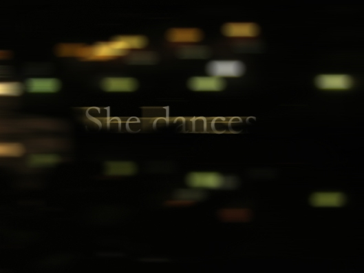 she dances | webland | Gabriela Canale