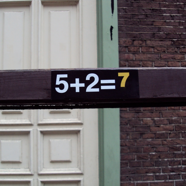 adding up to seven | Amsterdam | r.cambusano
