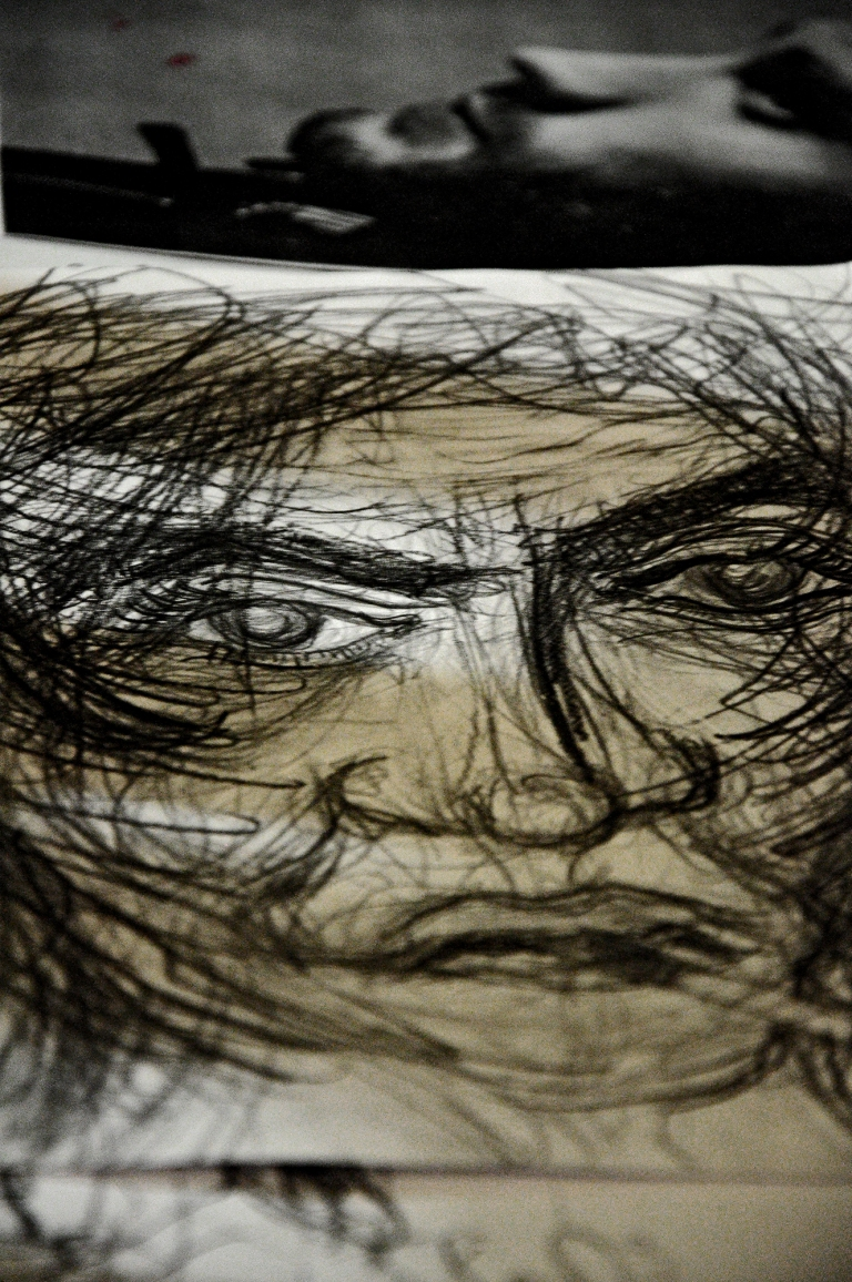 retrato da Matilda no multisgraphia | curitiba | ygor raduy