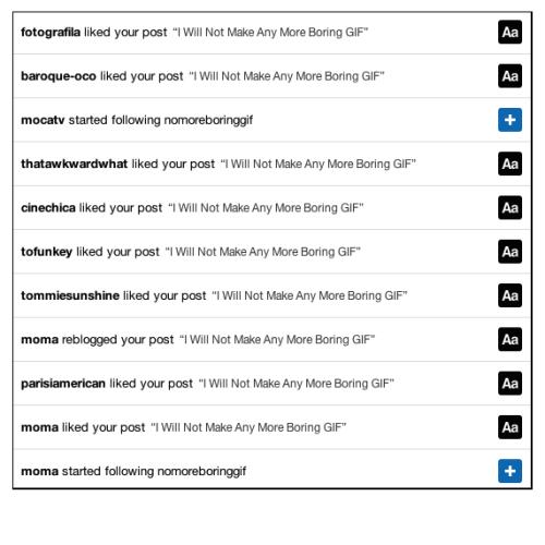 I_Will_Not_Make_Any_More_Boring_Tumblr | Webland | Jaime Scatena