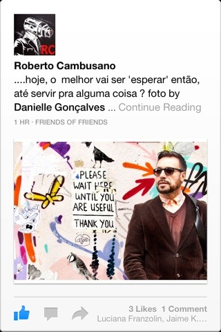 Go offline and get a life outside Facebook! | Facebookland | Jaime Scatena over Roberto Cambusano