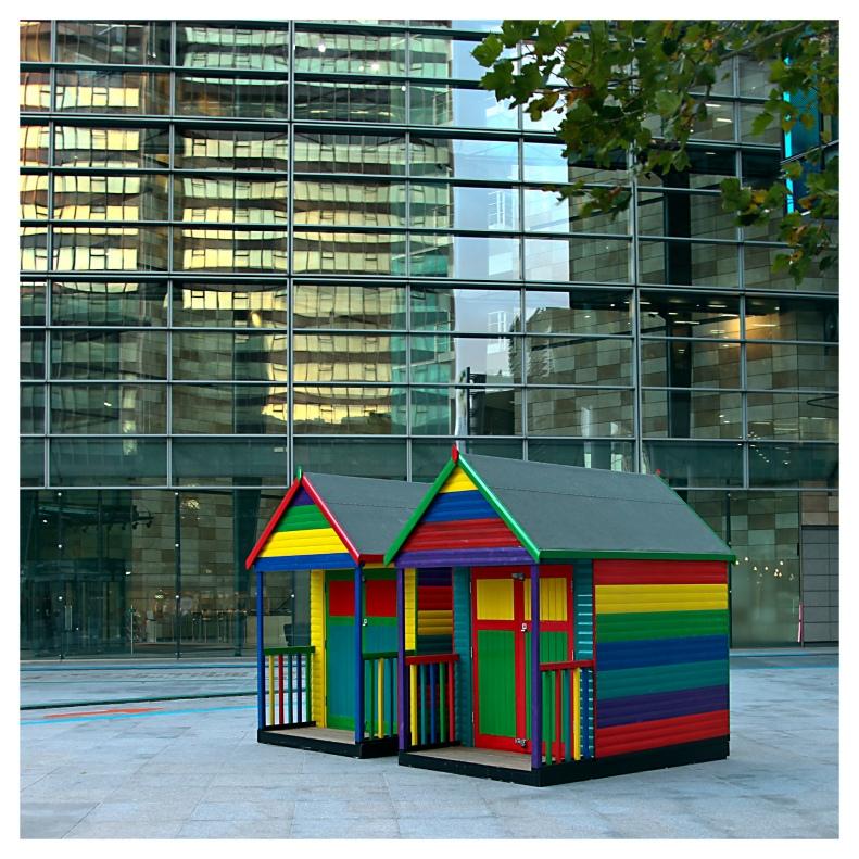 anyone else see rainbow colors everywhere? | London | R.Cambusano
