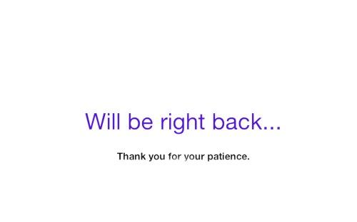 will be back soon | WEbLAnd | R.Cambusano
