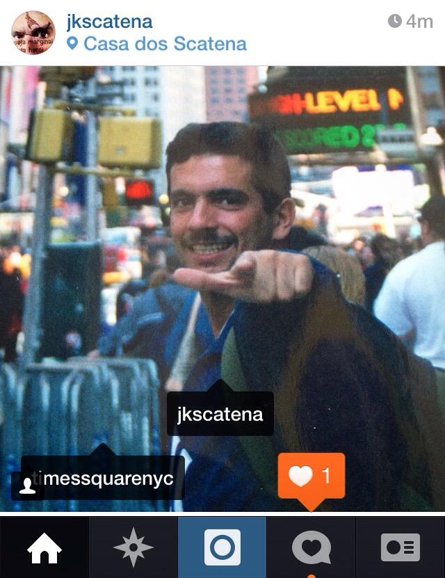 #TBT | Atibaia & New York | J. Scatena & A. Novaes