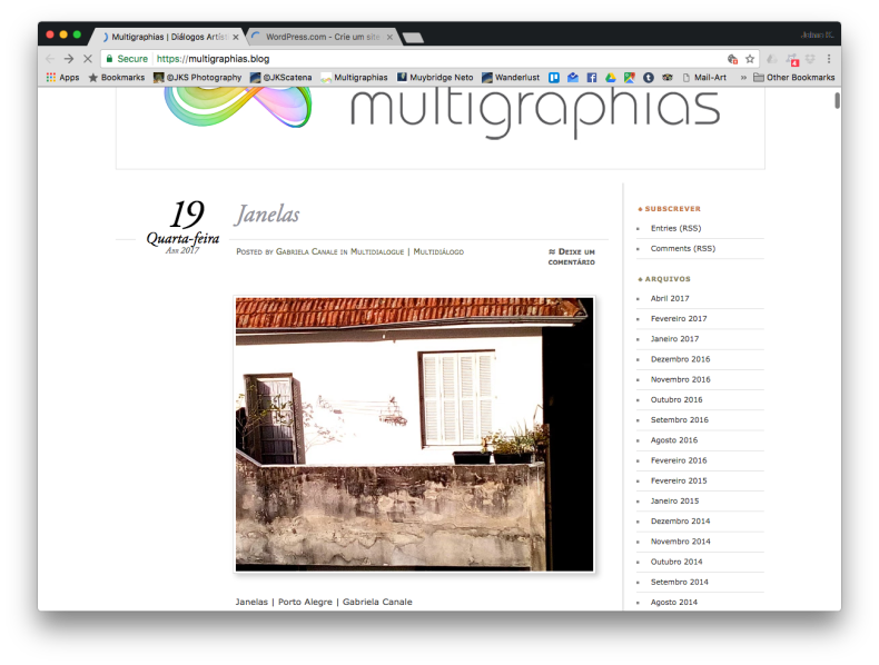 Janelas | Webland | JKScatena